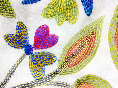Kantha Stitch Holiday with Colouricious