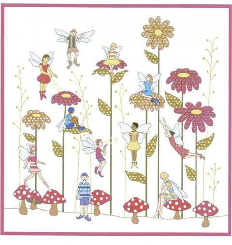 Flower Fairies pattern by Kjersti Smith