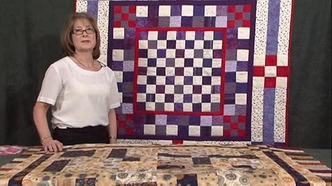 Nine Patch inspiration with Valerie Nesbitt