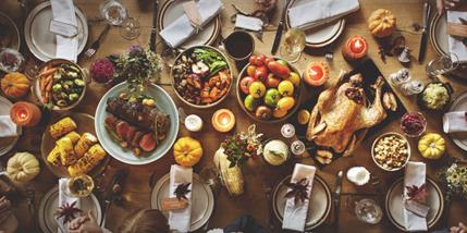 Picture of Thanksgiving Meal