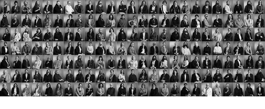 Changing Faces 171 black and white potraits