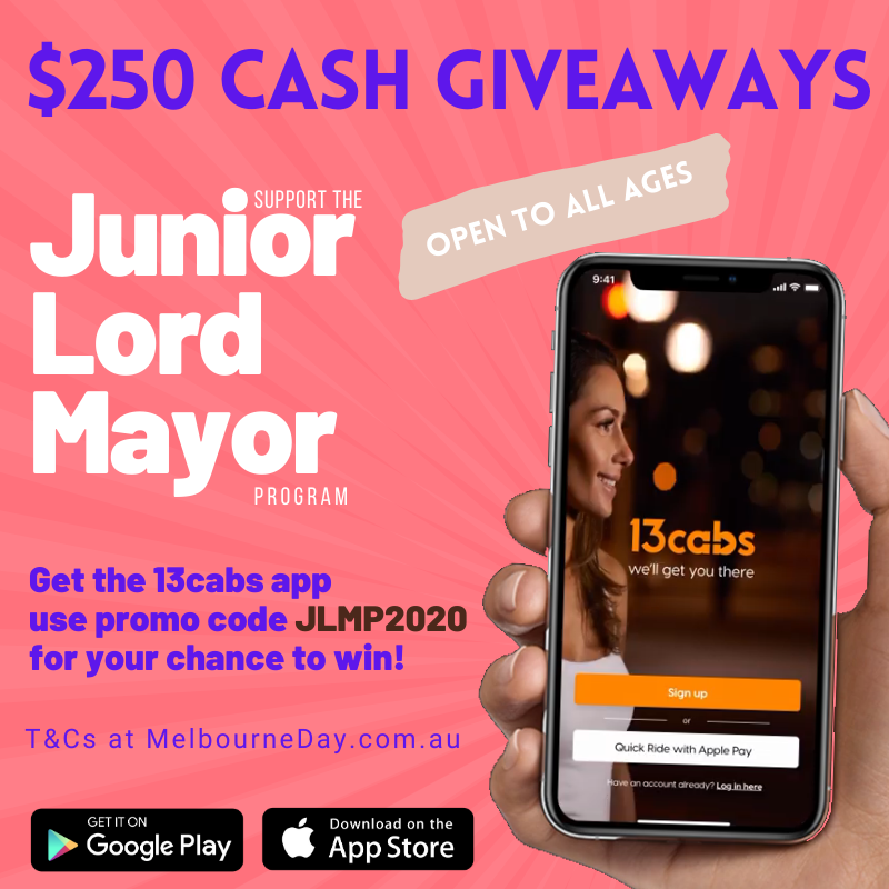 Download the 13cabs app for your chance to win $250