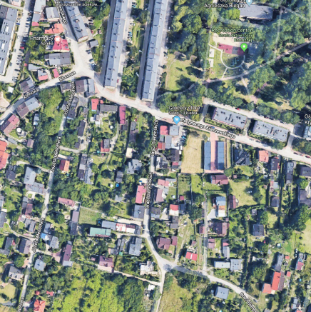 How a Google Street View image of your house predicts your risk of a car accident