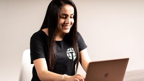 image of Talkmaze founder Ghalia Aamer