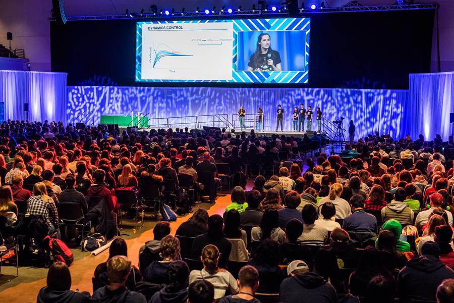 iGEM 2017 Giant Jamboree finalist team presentation image