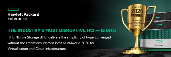 dHCI takes hyperconverged further
