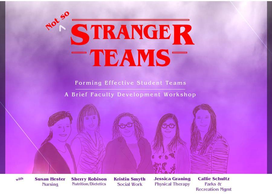 Not so Stranger teams