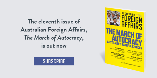 Subscribe to Australian Foreign Affairs