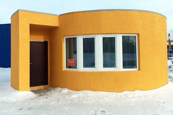 EASIER THAN LEGOS – THE FIRST ON-SITE 3D PRINTED HOUSE TOOK JUST 24 HOURS