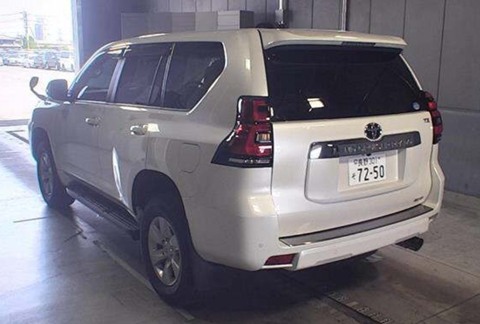 2017 Toyota Prado TX (Rear)