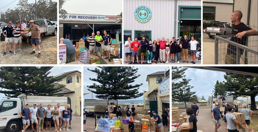 Bushfire Donation Efforts