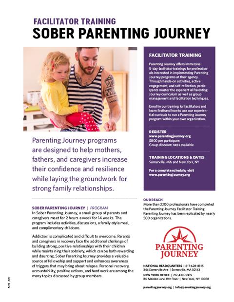 Sober Parenting Journey Training