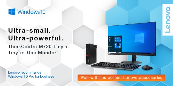 A tiny desktop with big power