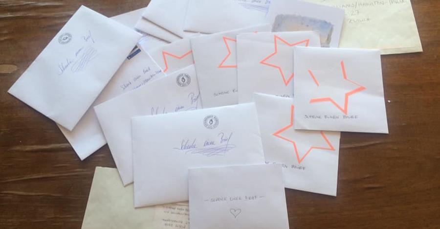 Schenk einen Brief: Eines von vielen Projekten in der Corona-Krise