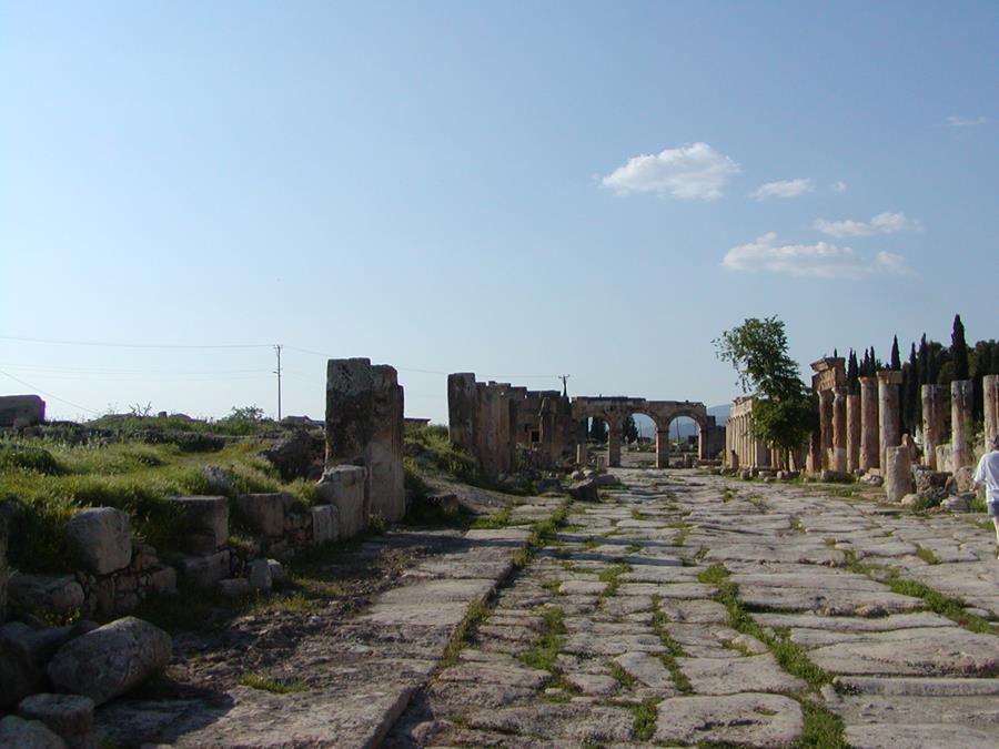 Explore Hierapolis-Pamukkale Turkey Travel with Purpose Maranatha Tours
