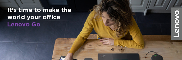 Work your way with Lenovo Go