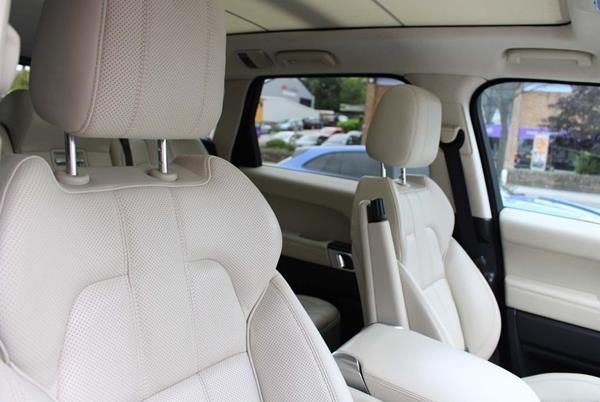 Range Rover Sport with SVR Kit interior