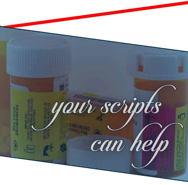Image of prescription bottles