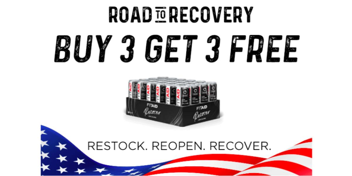 Get 3 Free Cases! Restock. Reopen. Recover.