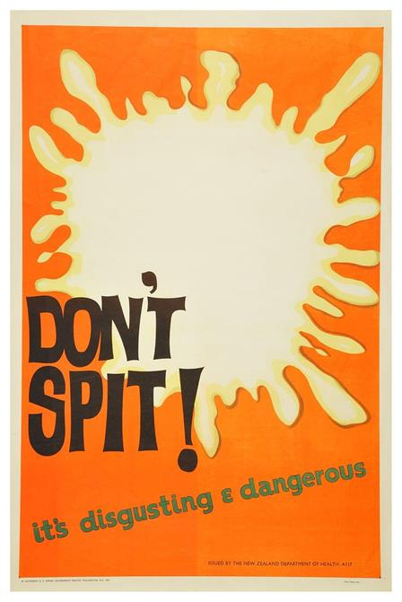 By Archives New Zealand from New Zealand - Don't Spit it's Disgusting and Dangerous, CC BY-SA 2.0