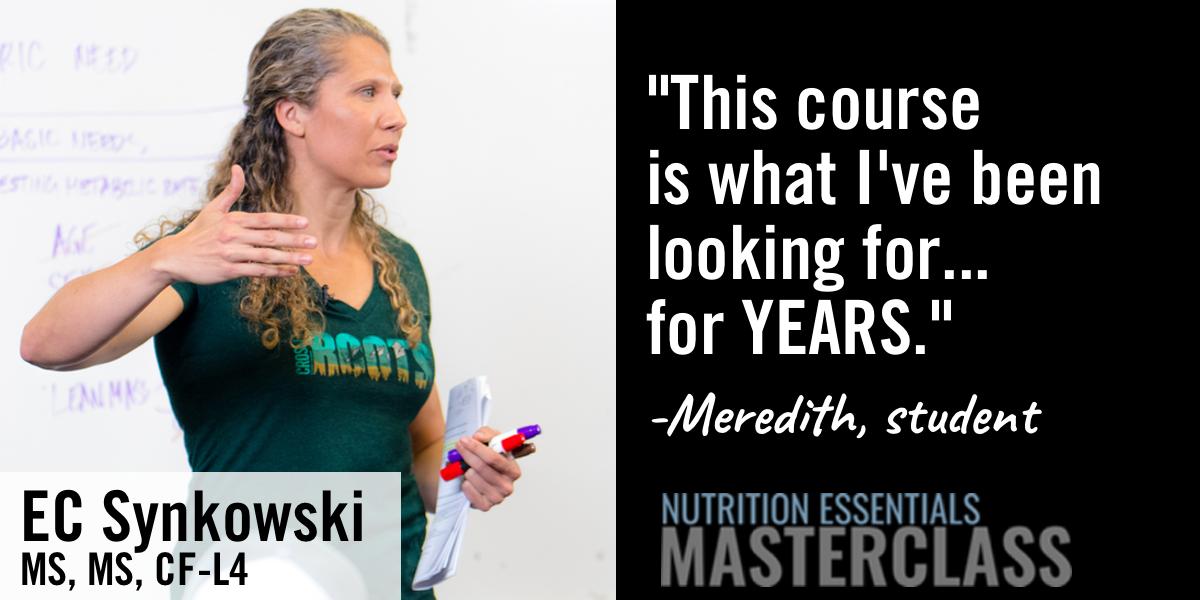 Starting Sunday: 8-Week Online Nutrition Program