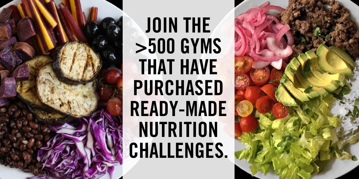 Expand Your Online Gym Offerings with a Nutrition Challenge