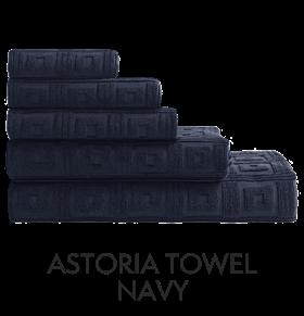 Astoria Towel Navy