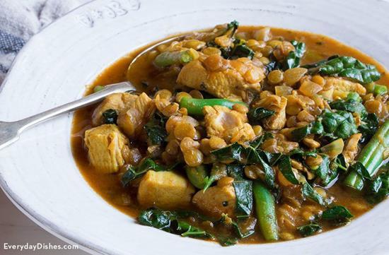 One Pan Mediterranean Chicken Stew