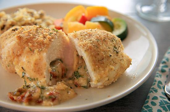 Easy stuffed chicken
