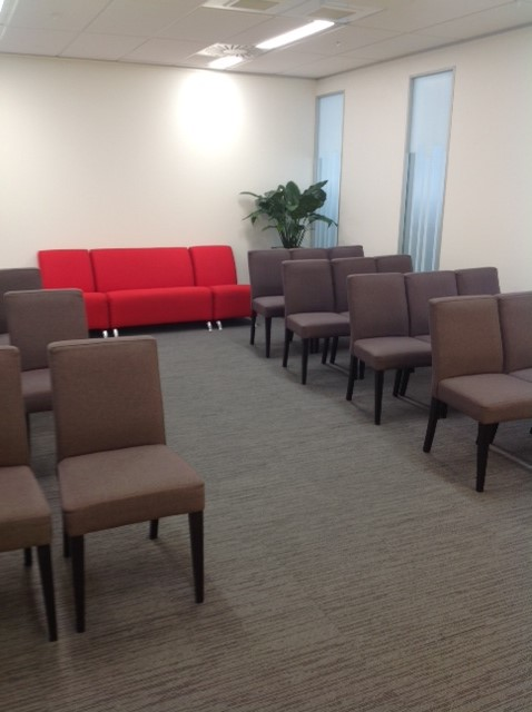 Contemporary new marriage space at Cashel Square