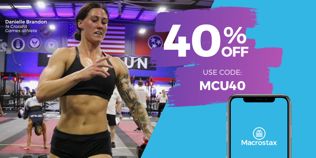 Take 40% Off Your Custom Nutrition Plan TODAY!