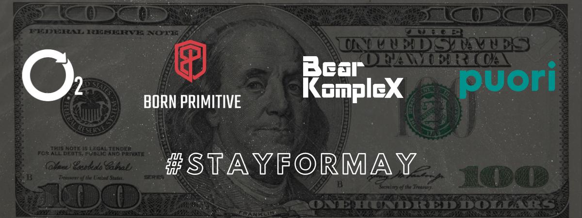 Get Your $100 #stayformay Gift Voucher
