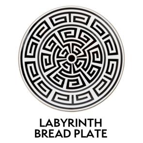 Labyrinth Bread PLate