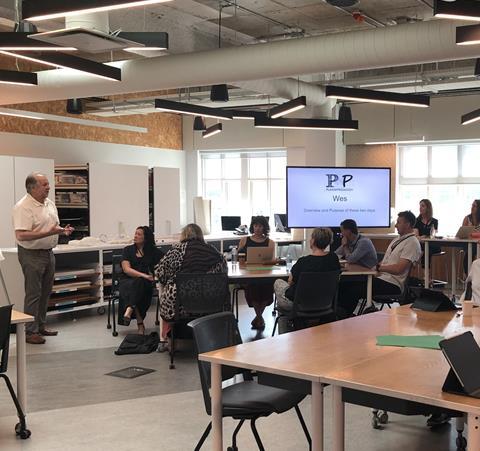 P2P team at November workshop