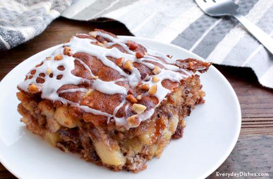 Oatmeal Apple Breakfast Bake