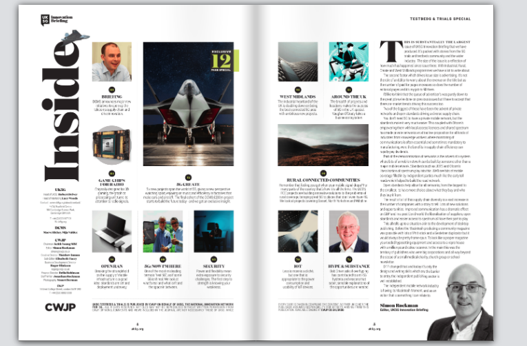 Innovation Briefing Issue 4 - UK5G