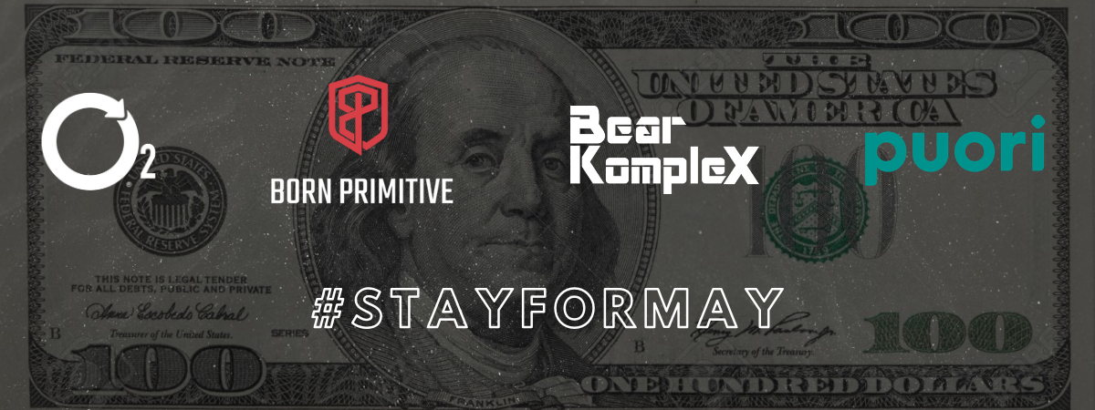 Get Your $100 #StayForMay Gift Card
