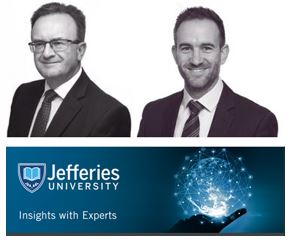 James Hockley and Ashley Sheen  Jefferies seminar
