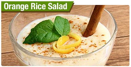 Orange Rice Salad