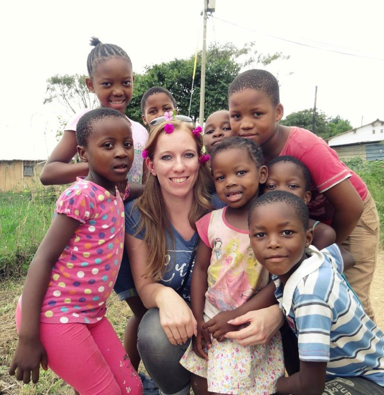 Out in Africa - kinderen, Zulu township, Durban, Zuid-Afrika