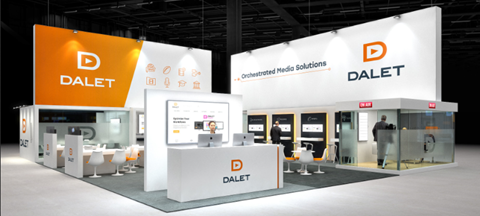 Dalet Booth at NAB Show 2018