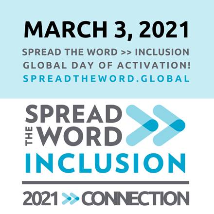 Spread the Word>>Inclusion 2021 theme is connection