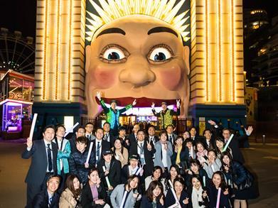 Tourism agents from Japan visit Luna Park
