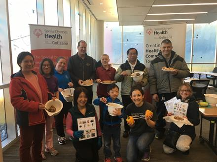 Special Olympics BC Family Health Forum March 2019