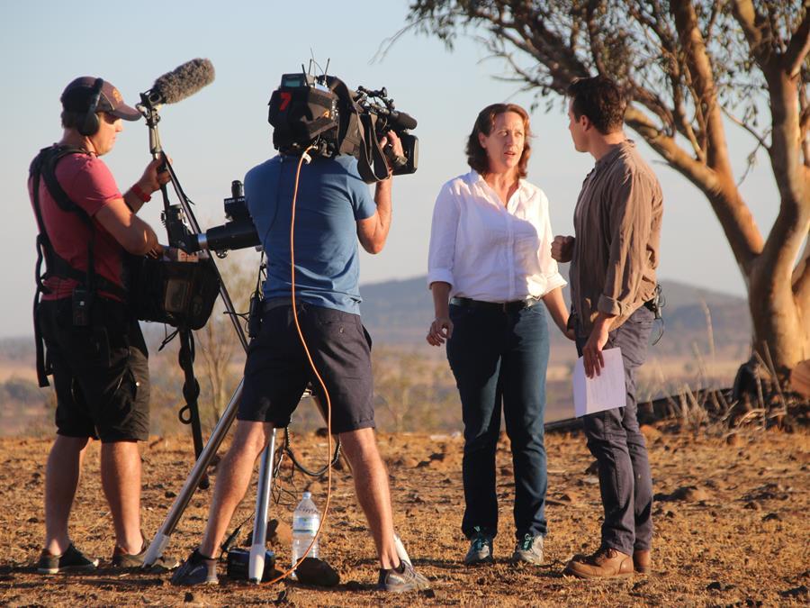 Regional NSW Sunrise TV Show Filming