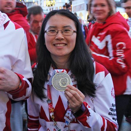 Special Olympics BC - Surrey athlete Susan Wang