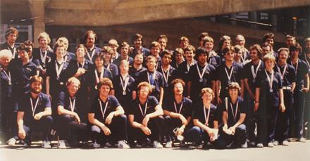 Special Olympics Team BC 1981