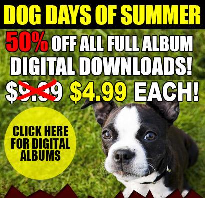 Joe Bonamassa Dog Days Of Summer! All full digital downloads 50% OFF. One week only! Click here to buy!