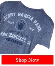 Tribut - Jerry Garcia Band - San Francisco tee