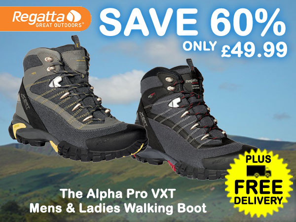 Regatta Alpha Pro VXT Walking Boots